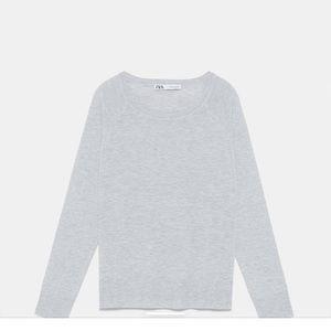 NWOT Zara basic sweater